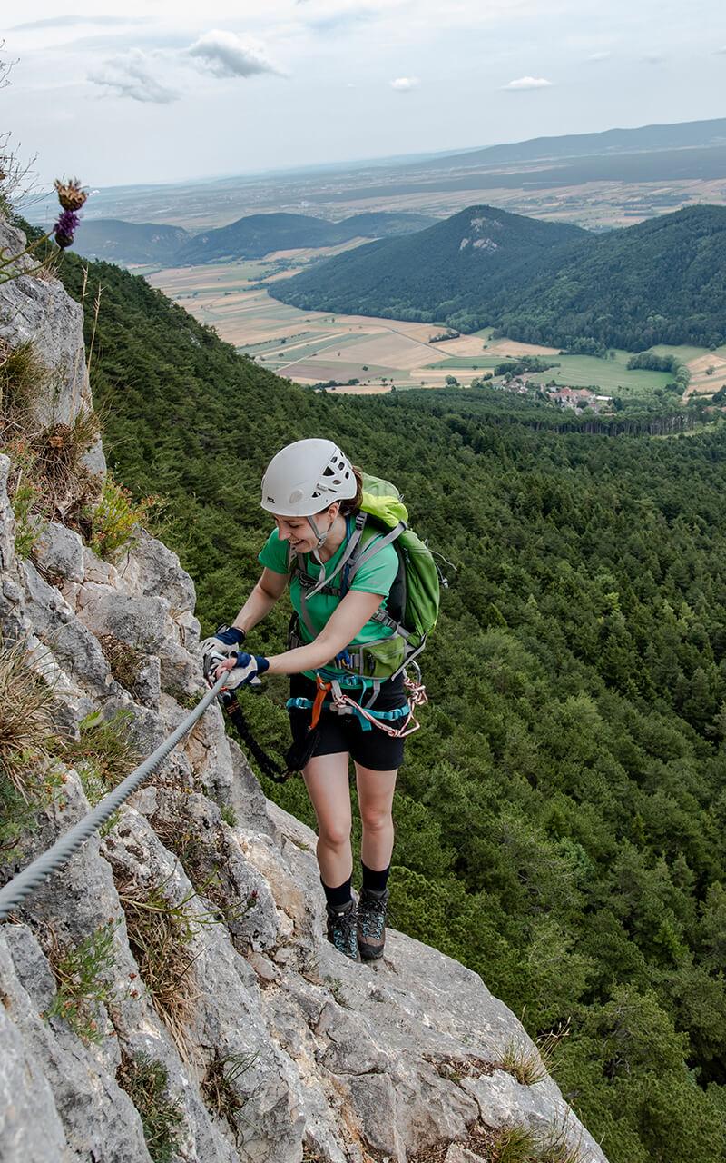 Klettersteig Hohe Wand