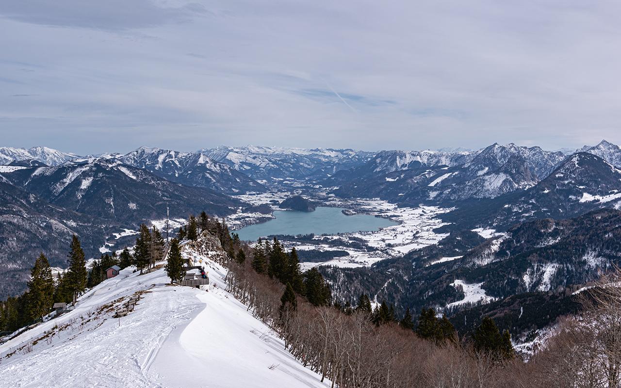 Ausblick Zwölferhorn