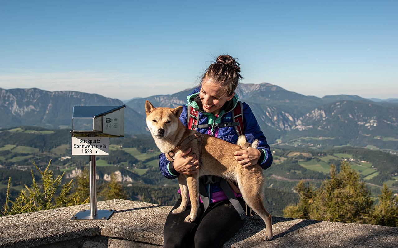 Blickplatz Sonnwendstein mit Nori