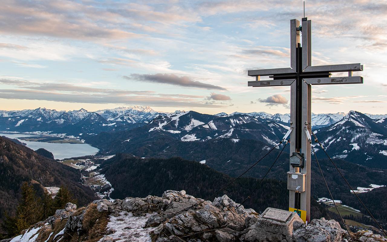 Frauenkopf Gipfelkreuz