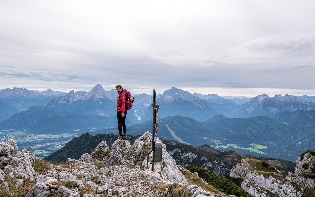 Gipfel Berchtesgadener Hochthron