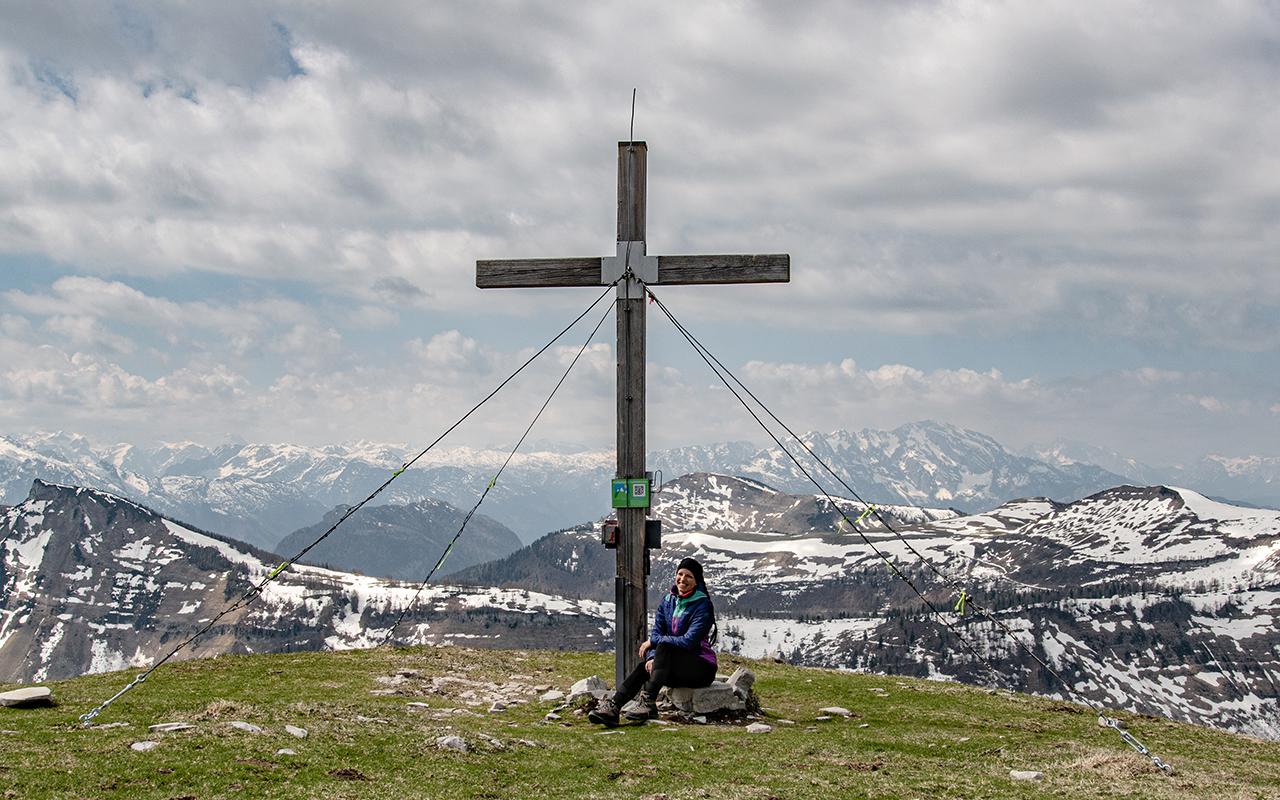 Gipfel Hoher Zinken Wanderung