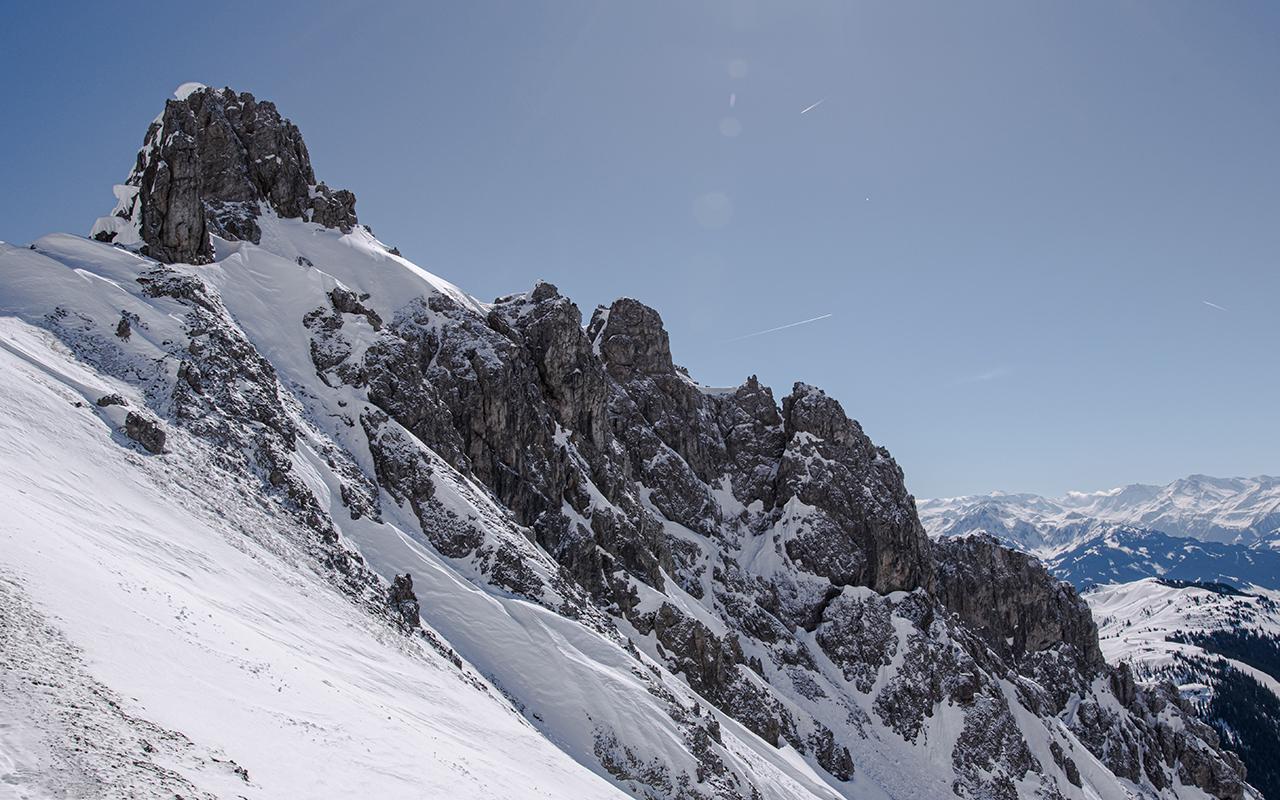 Gipfelblick Taghaube