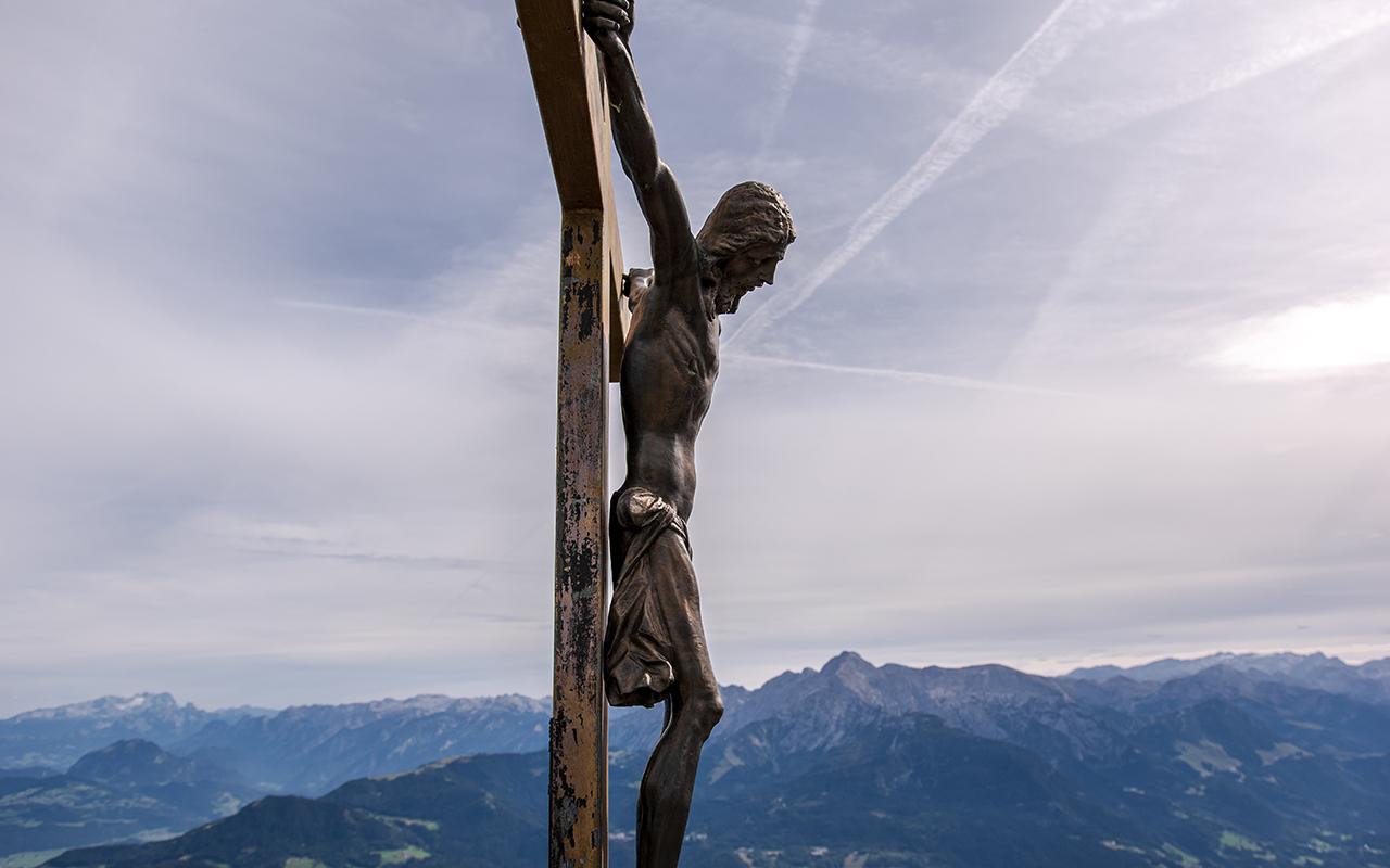 Gipfelkreuz Berchtesgadener Hochthron
