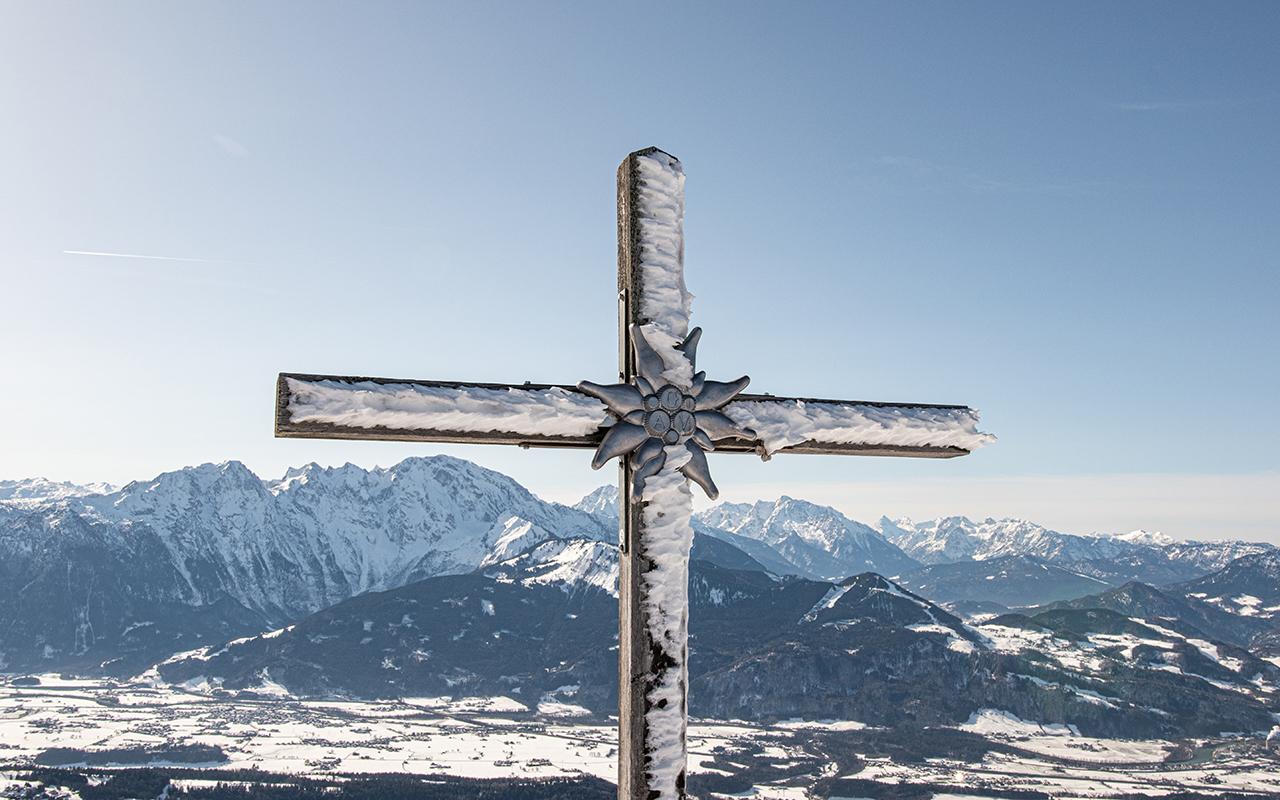 Gipfelkreuz Schlenken