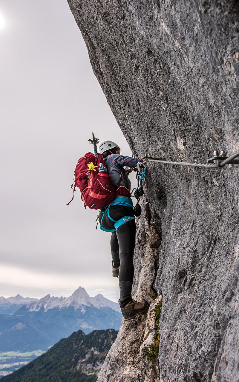 Hochthron Klettersteig Fotostelle