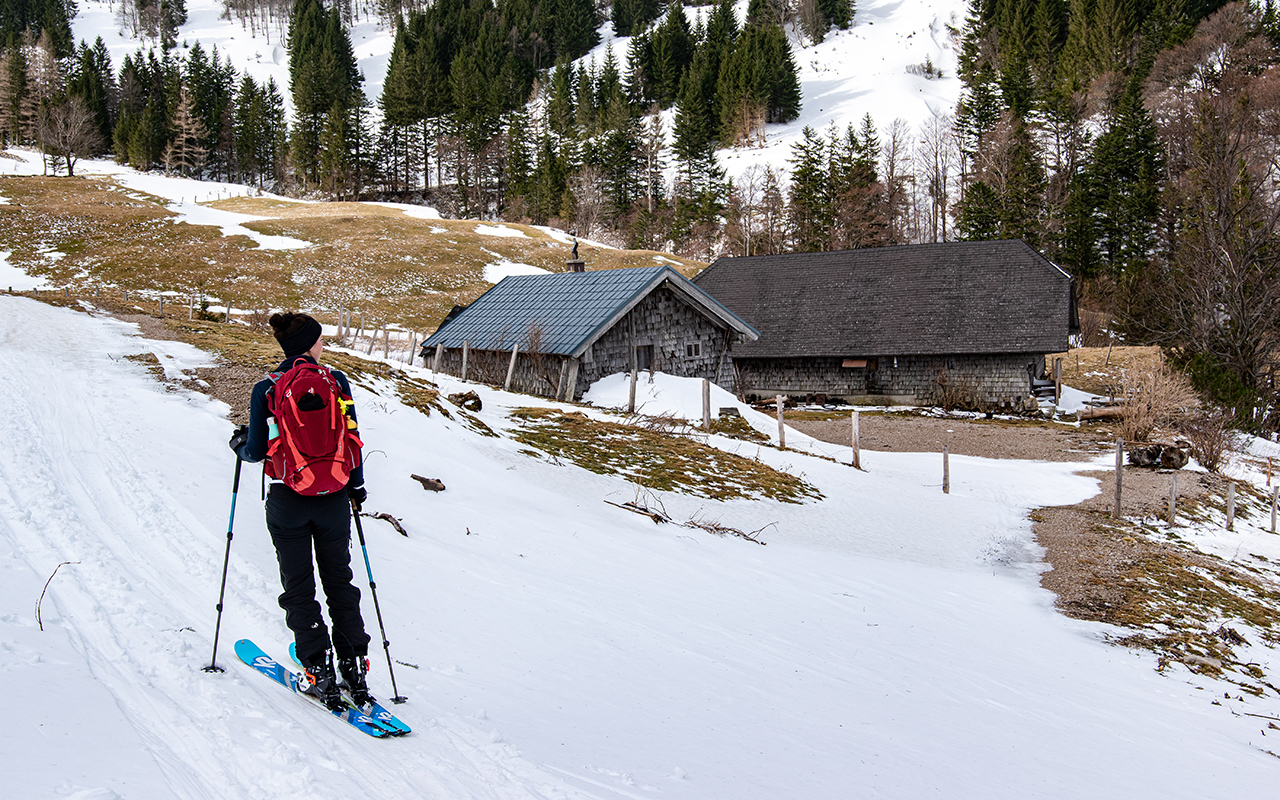 Mehlsackalm Skitour Zwölferhorn