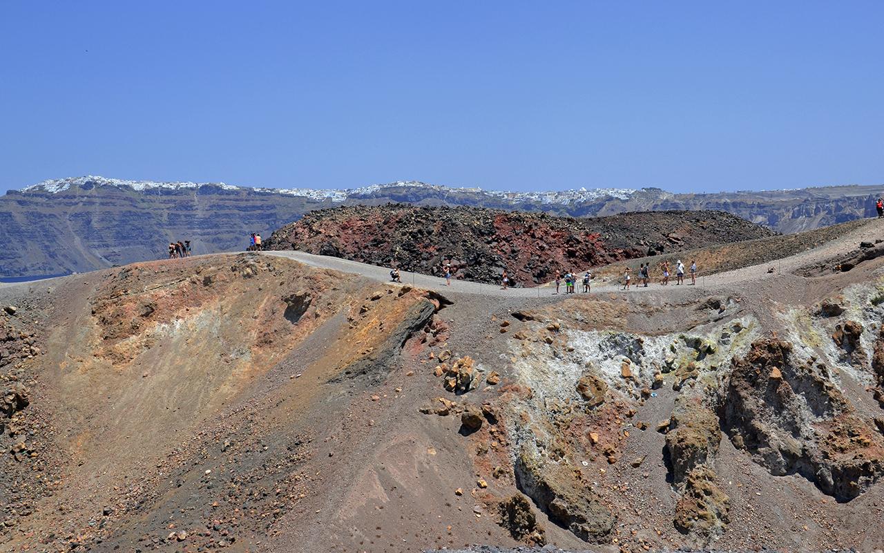 Nea Kameni Vulkan