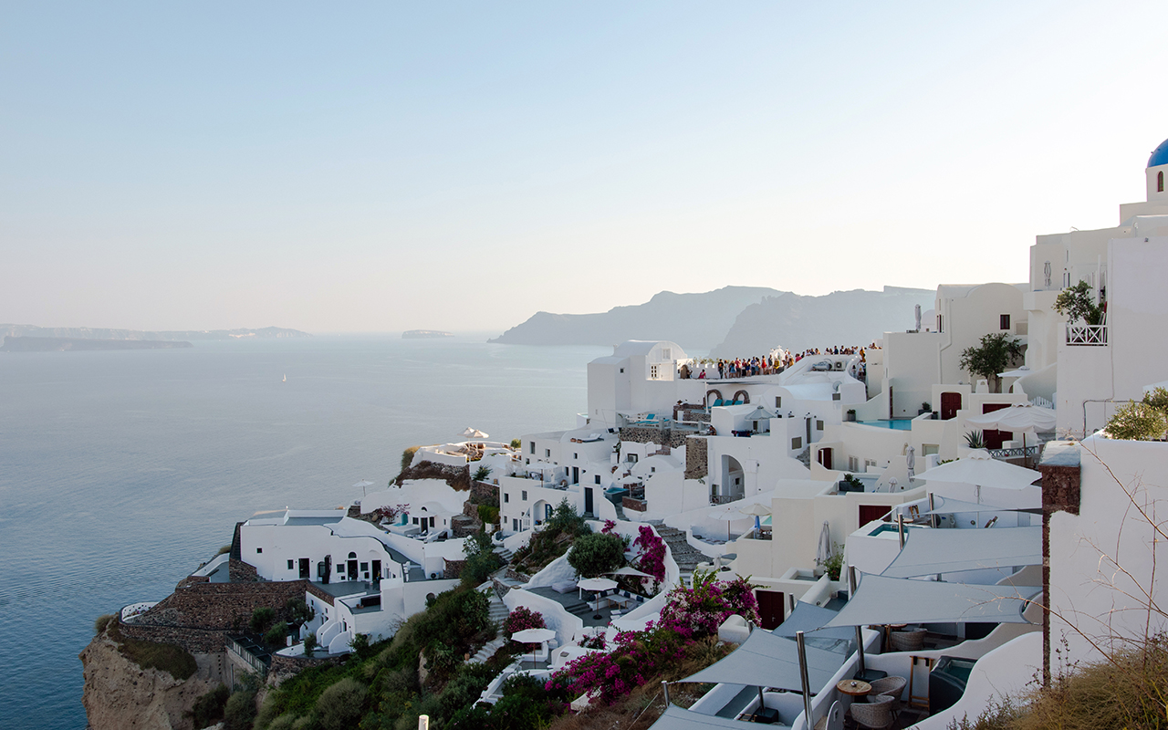 Oia Stadt