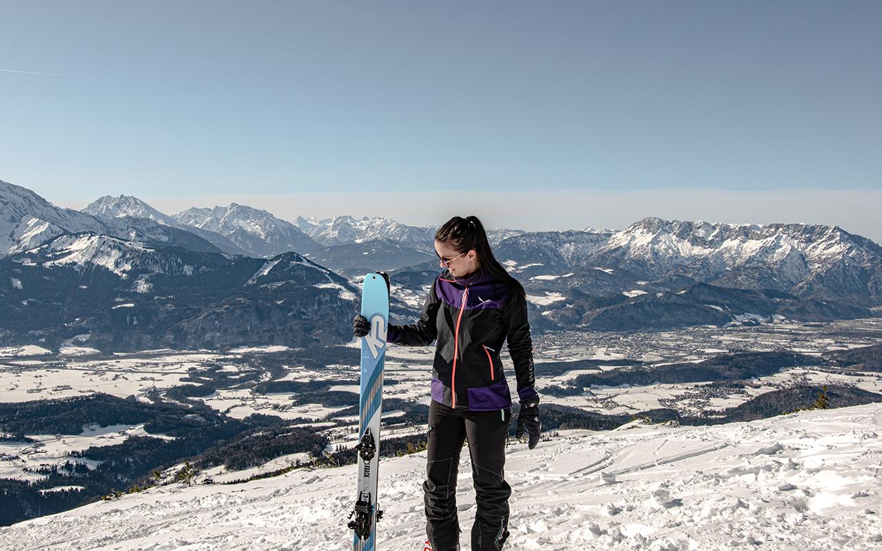 Schlenken Skitour Tourenski