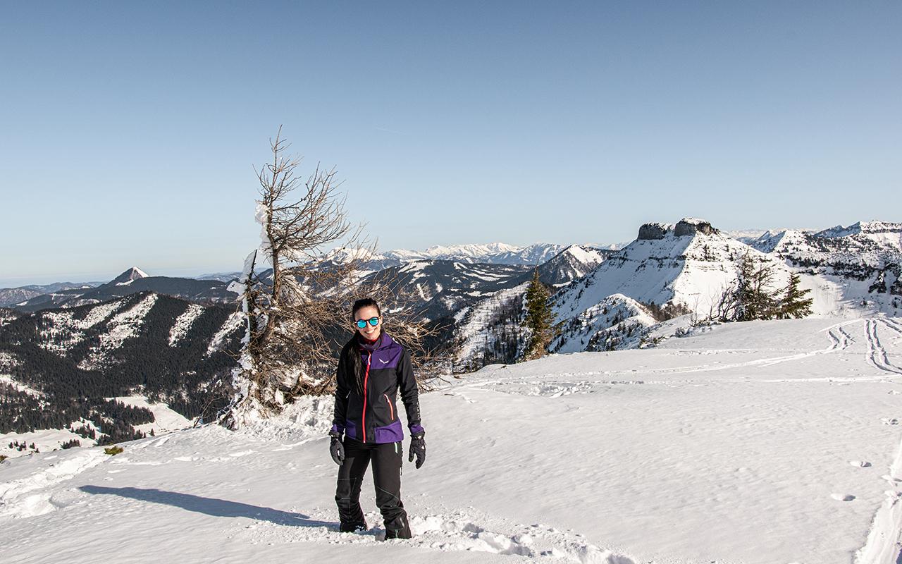 Schlenken Skitour