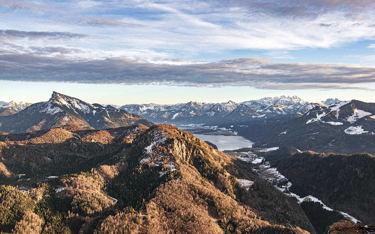 Schober Gipfel Panorama