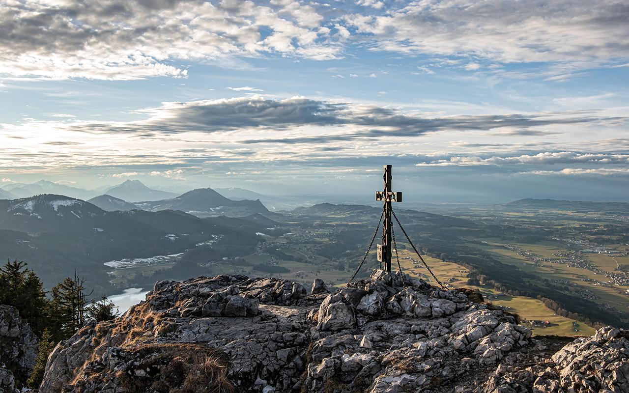 Schober Gipfelbild