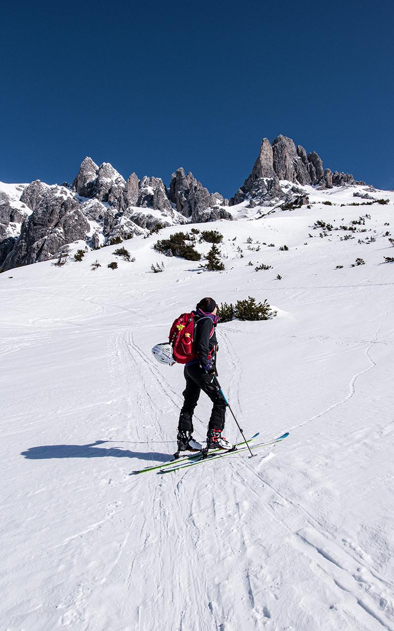 Skitour Dienten