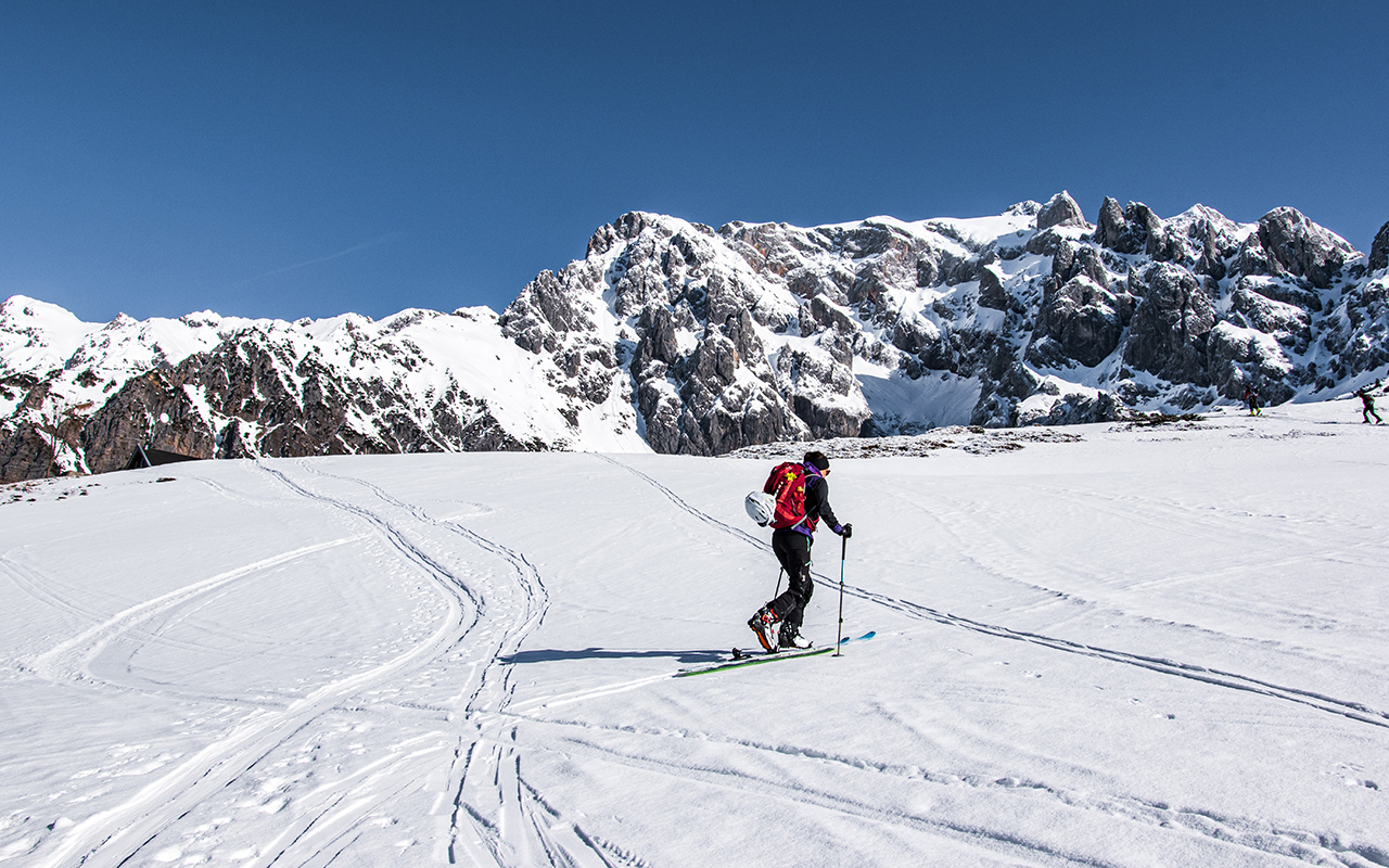 Skitour Taghaubenscharte