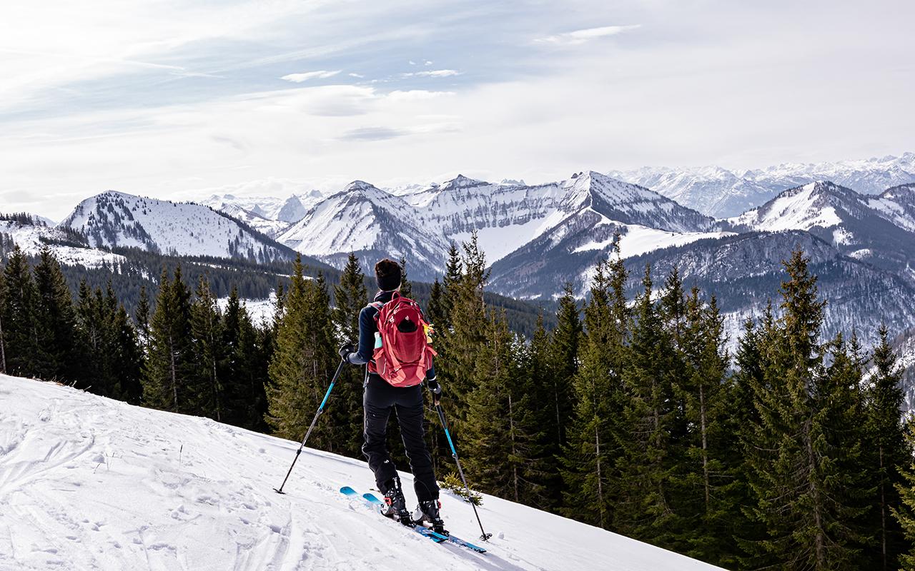 Skitour Zwölferhorn Salzkammergut