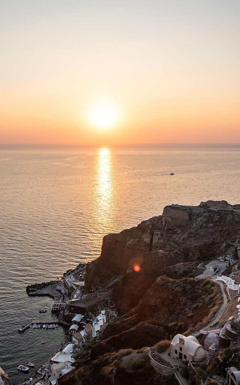 Sonnenuntergang Oia