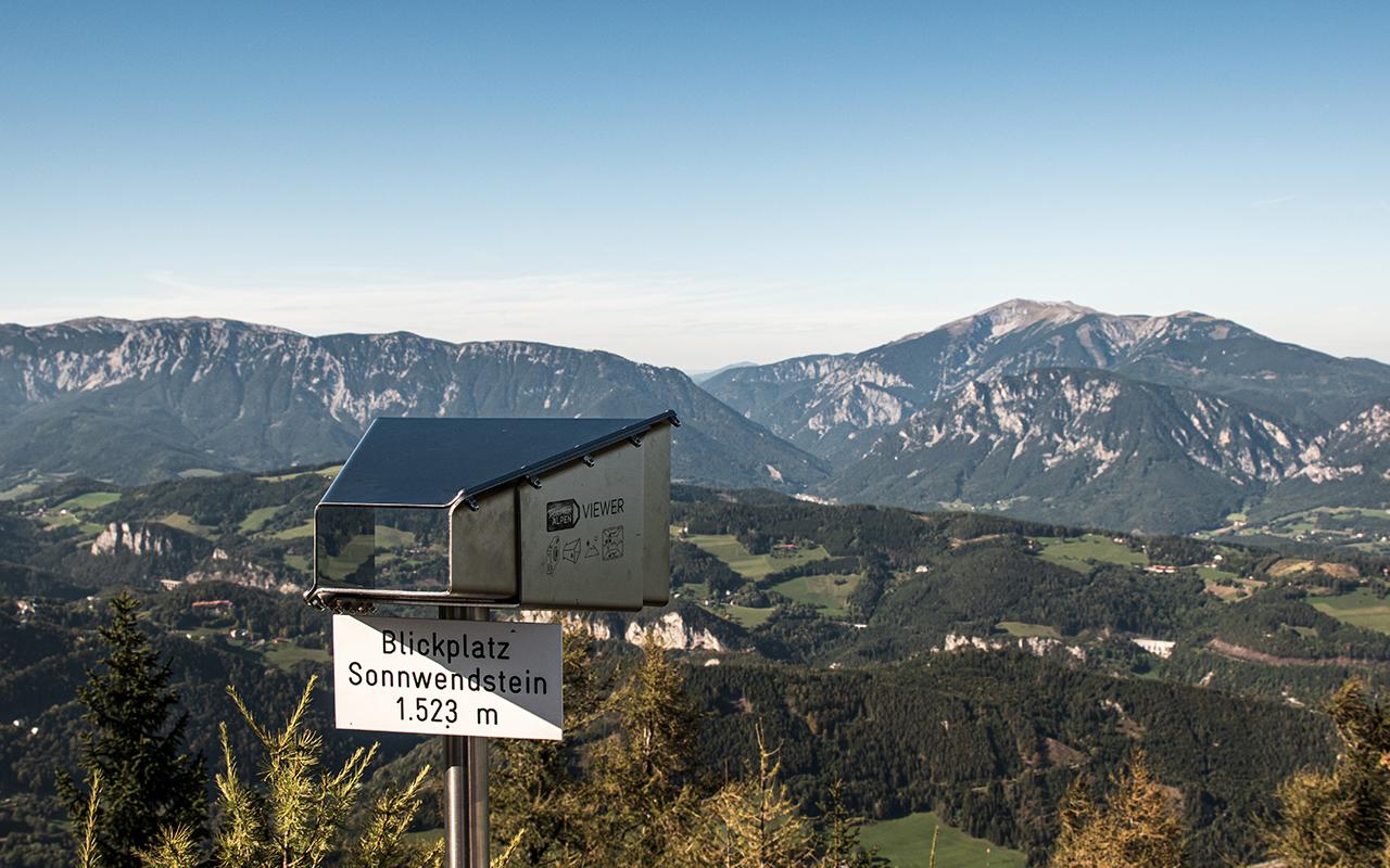 Sonnwendstein Blickplatz