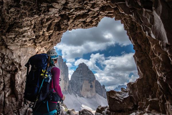 Header Klettersteige Südtirol Drei Zinnen