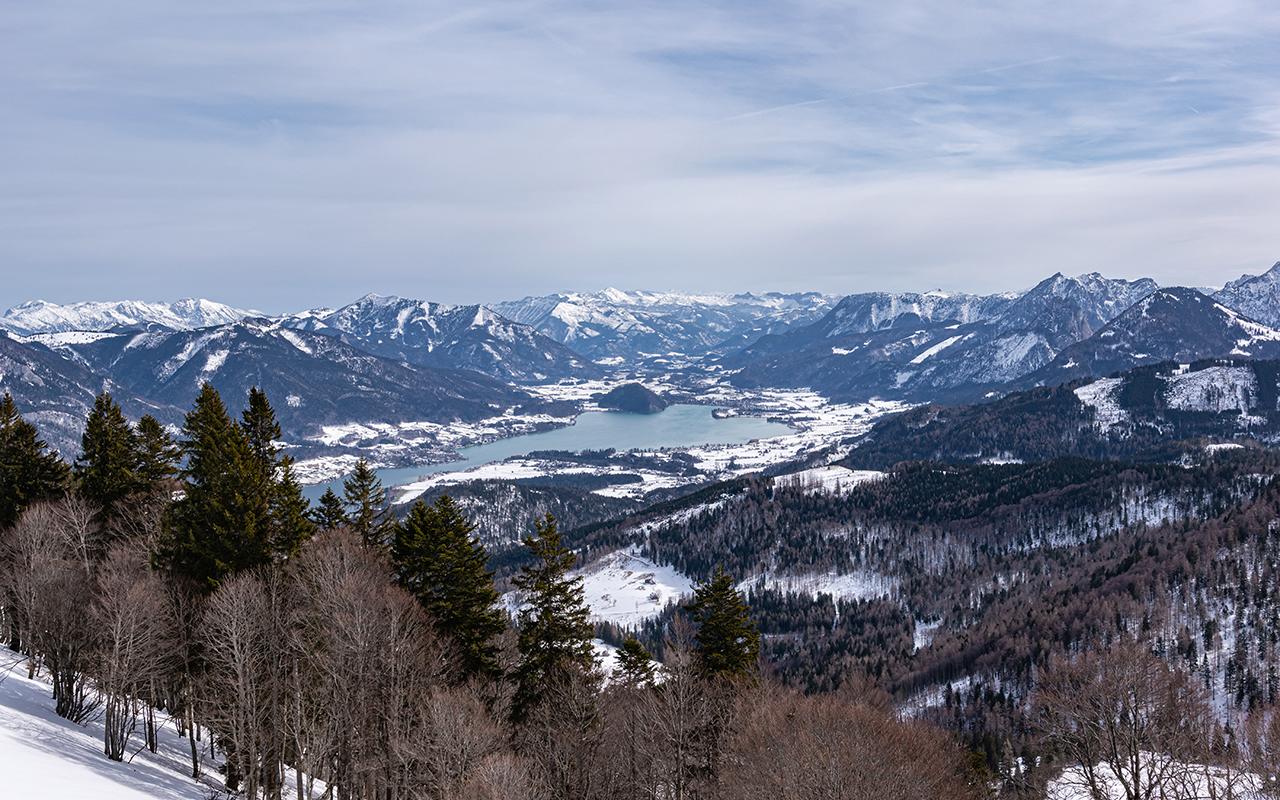 Wolfgangsee Skitour
