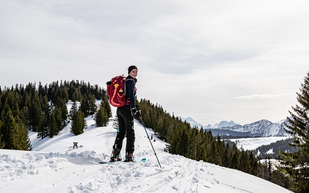 Zwölferhorn Skitour Salzkammergut