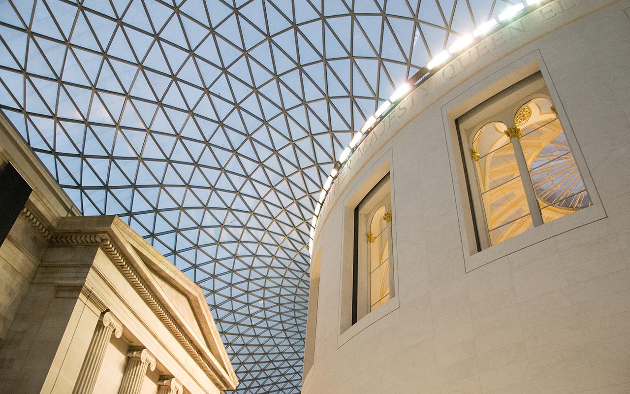 British-Museum-Eingangshalle