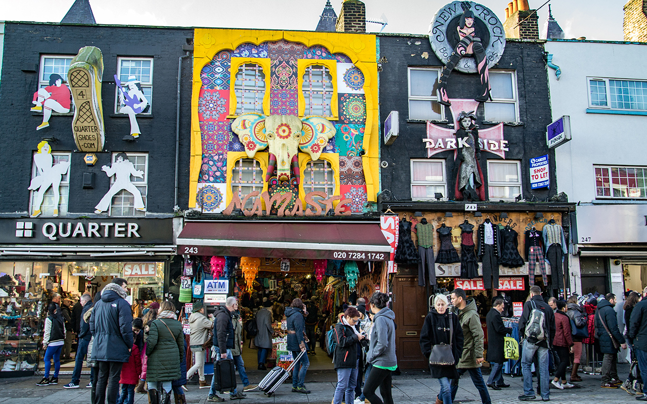 Camden Market Street