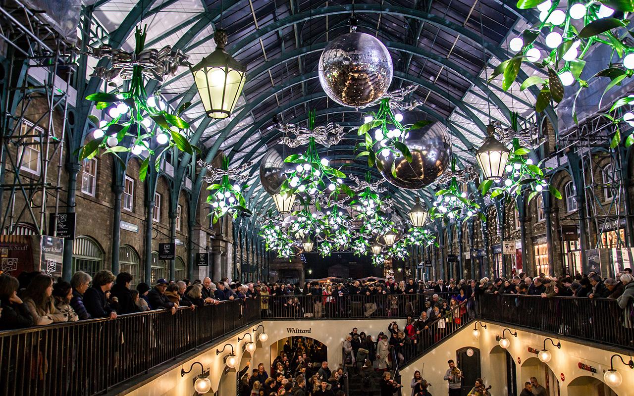 Covent Garden Winterdeko