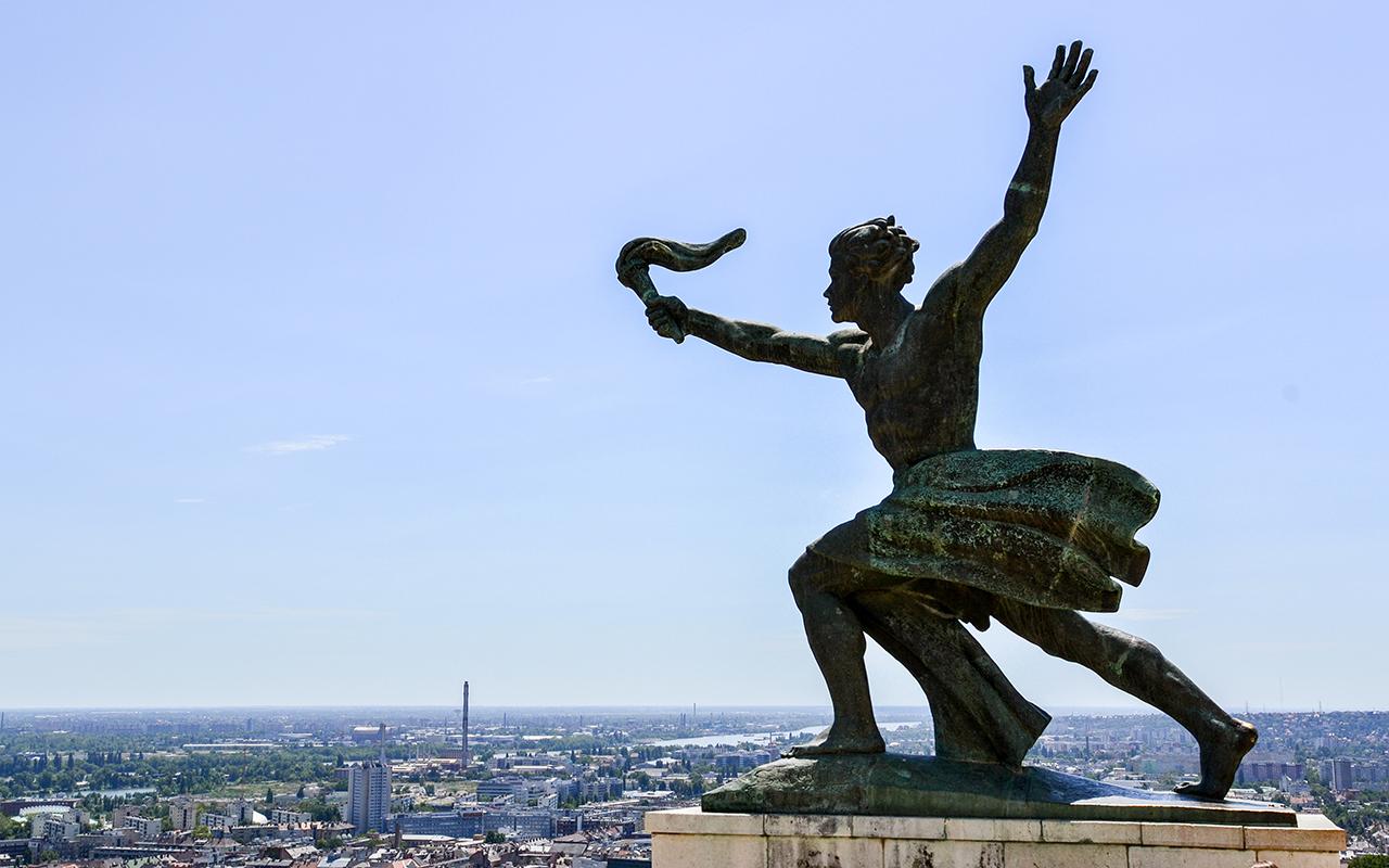 Freiheitsstatue Budapest