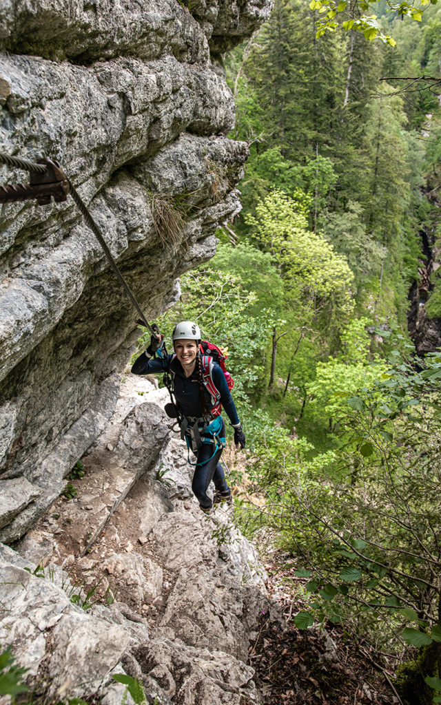 Klettersteig-Postalmklamm