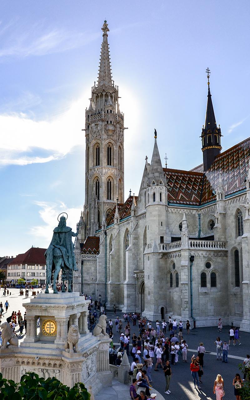 Matthiaskirche-Touristen