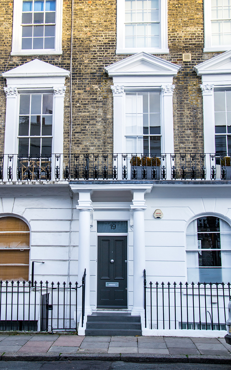 Notting-Hill-Eingangstor