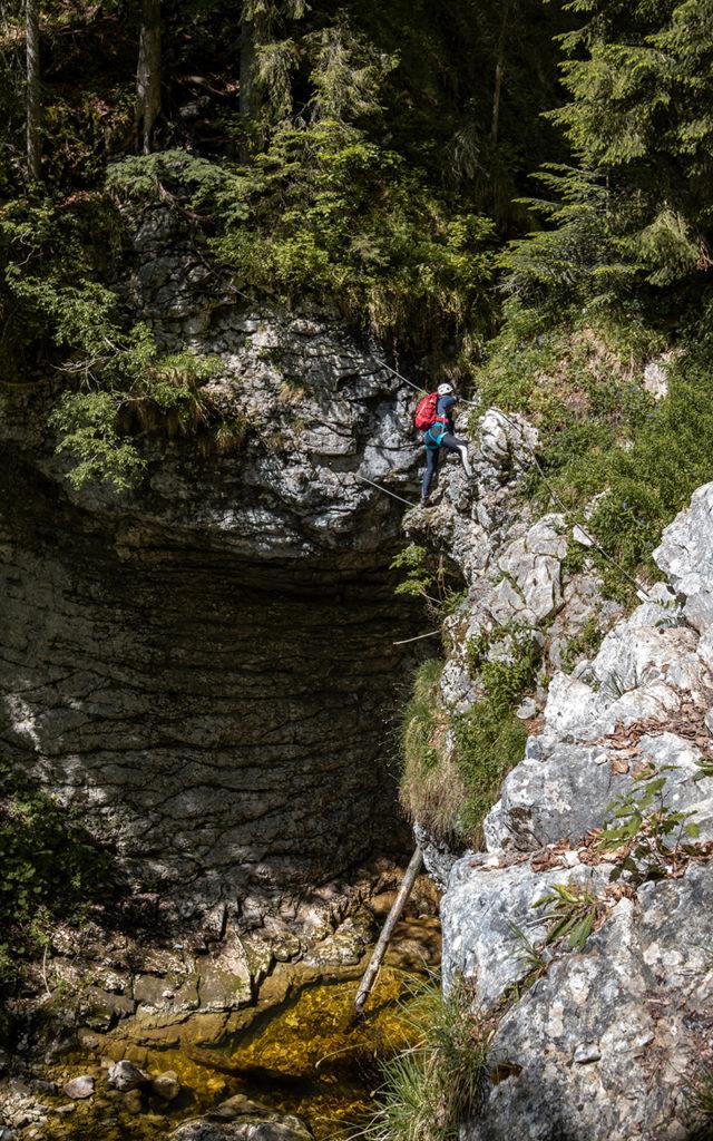 Postalmklamm-Klettersteig