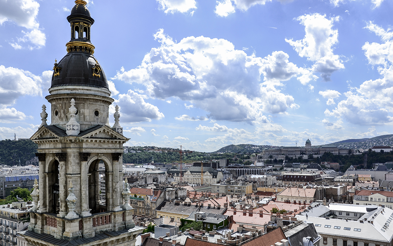 St. Stephans-Basilika Panorama