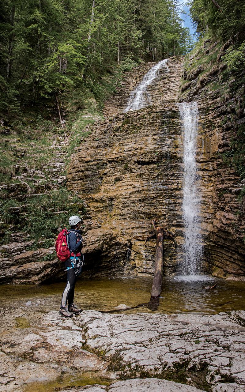 Wasserfall-Postalmklamm-Klettersteig