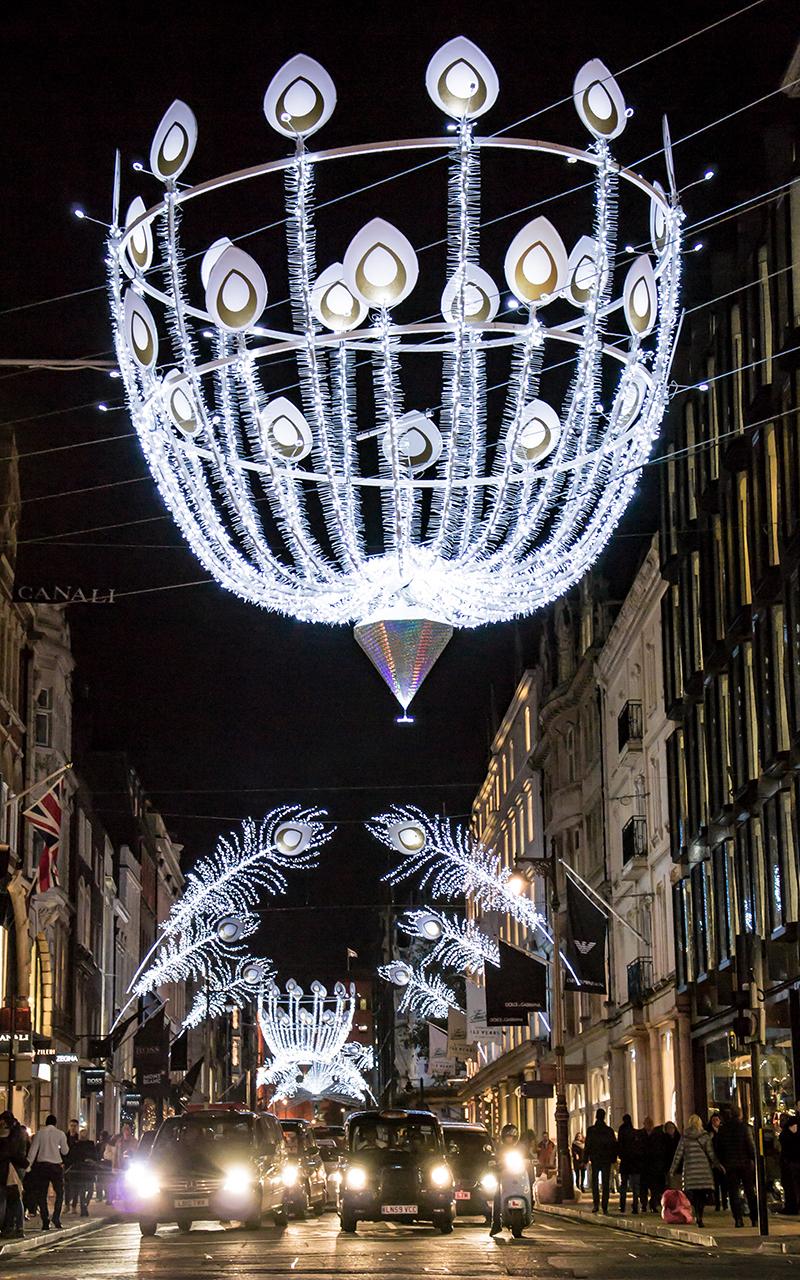 Weihnachtsbeleuchtung-London